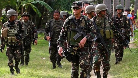 The Philippine army has been on the offensive against the Abu Sayyaf.