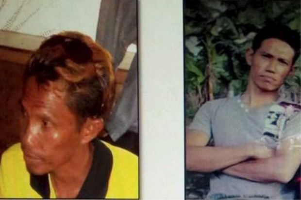 Nixon (left) and Brown were shot dead by Philippines security forces in Sulu on Tuesday. - Photo courtesy of the Star