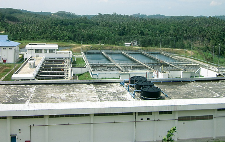 For illustration only. The Kudat 60 million litres a day (MLD) Water Treatment Plant. – Photo credit Water Engineering Technology Sdn Bhd