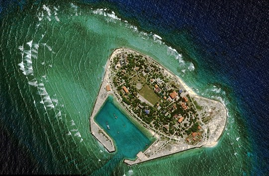 Southwest Cay, also known as Pugad Island, is a small piece of the Spratlys currently controlled by Vietnam.