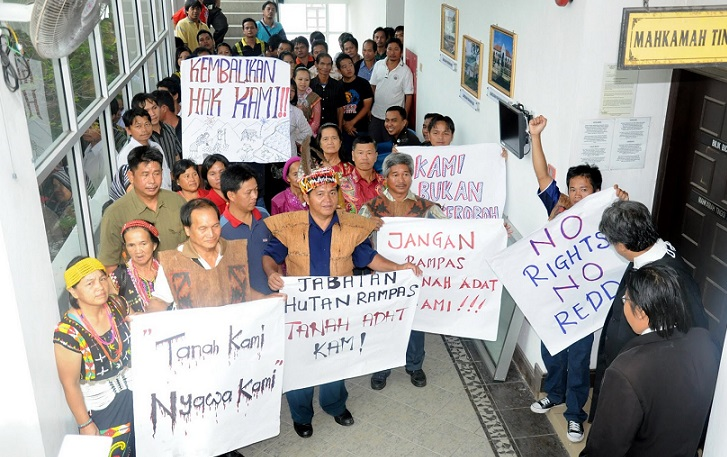 Natives deprived of the NCR land have to turn to the courts for justice.