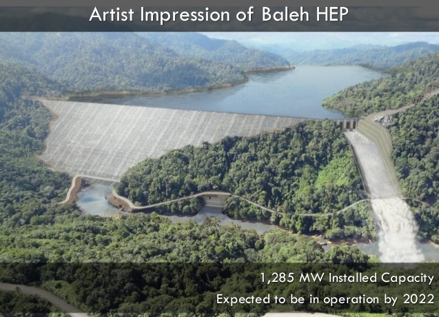 Works On Baleh Hep Project To Begin In June To Be Ready