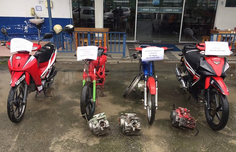 City Cops Bust Motorcycle Theft Ring With Arrests Of 8 Local