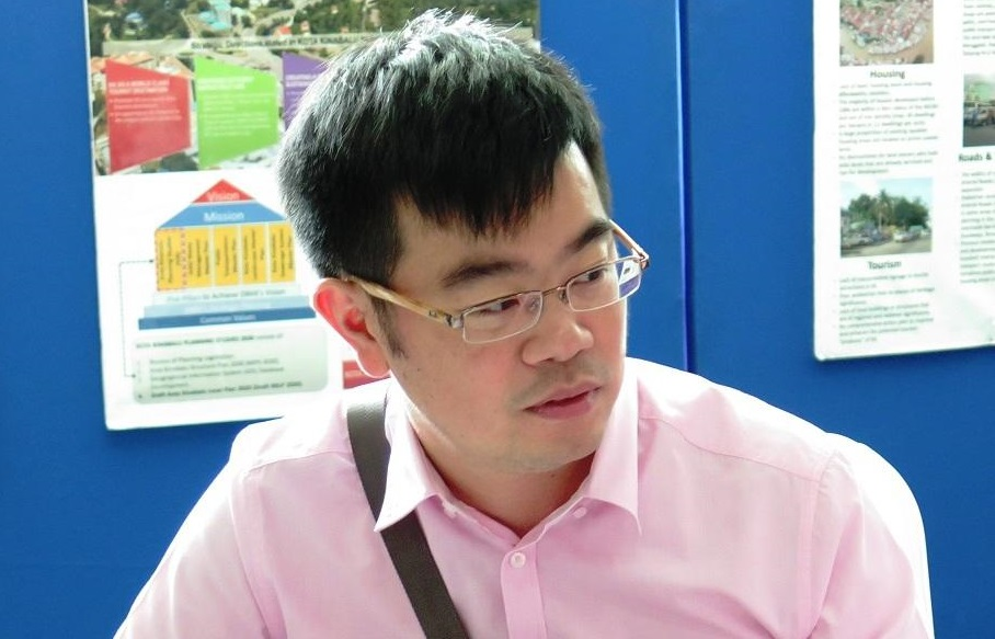 Junz Wong won the Likas seat in 2013 beating a former Chief Minister as well as the BN candidate.