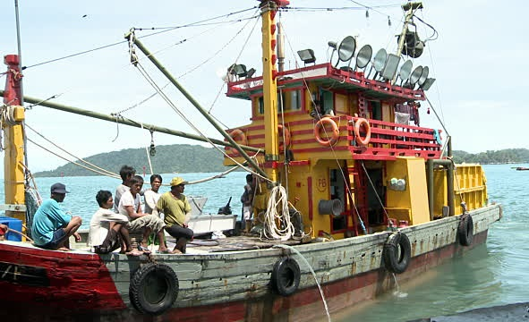 File photo of a fishing trawler similar to the one skippered by Harman.