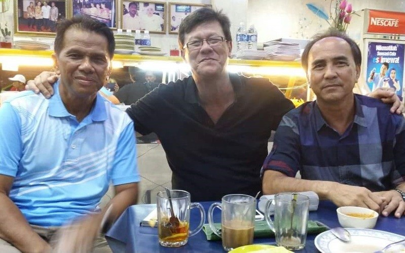 The three new Sabah Datuks - Zulfikar Ahmad, James Wong and Hassan Sani. - Photo courtesy of a BorneoToday reader
