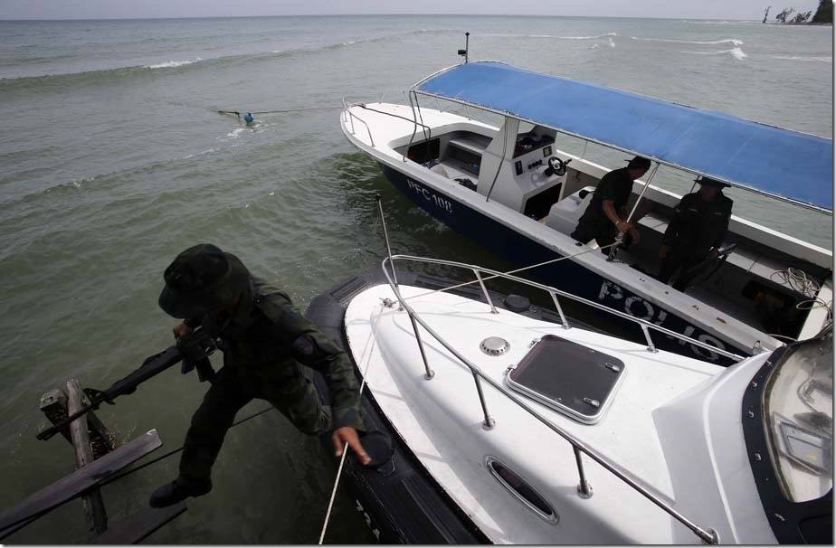The boat owner arrived in Lahad Datu Saturday morning and is now being questioned by police.