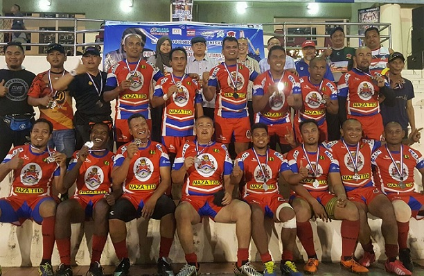 The DBKL team had to be contented with second placing in the veteran's category.
