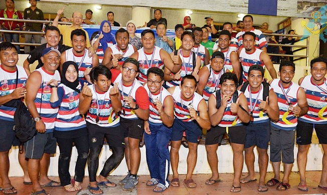 Labuan Marlin, champions in 2015, had to be contented with third place in the Member of Parliament's Cup category.
