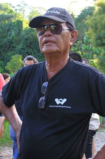The late Fred Leong