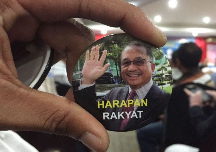Parti Harapan - led by Lajim Ukin, one of the former Umno and PKR Sabah leader, now leading his own party.