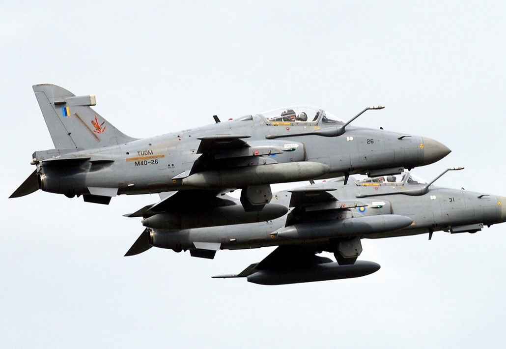 Hawk Squadron from Butterworth base to Labuan Air Force Base.