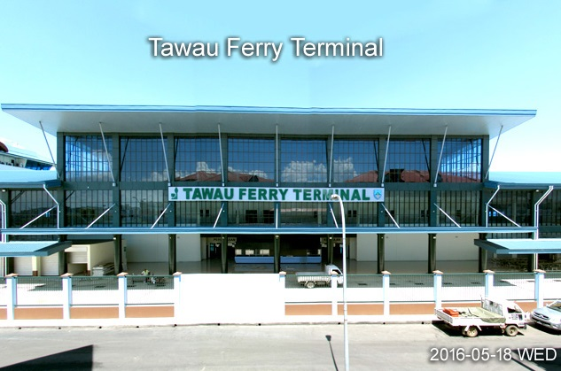 Internet photo showing the new Tawau Ferry Terminal.