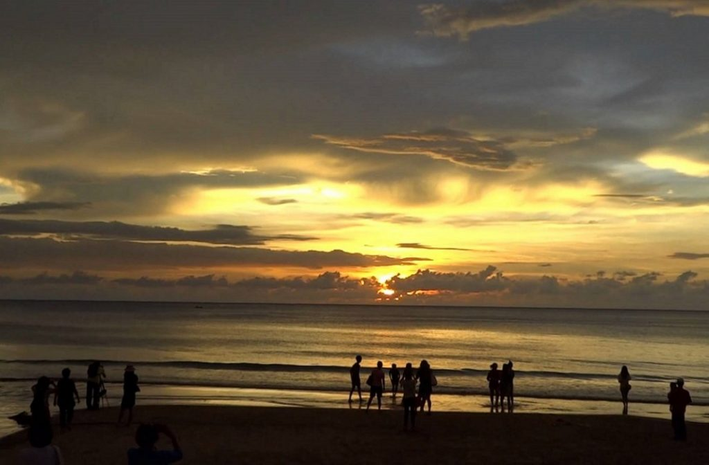 A sunset at Tanjung Aru. Soon the public will not get to enjoy such a scene. - Internet photo