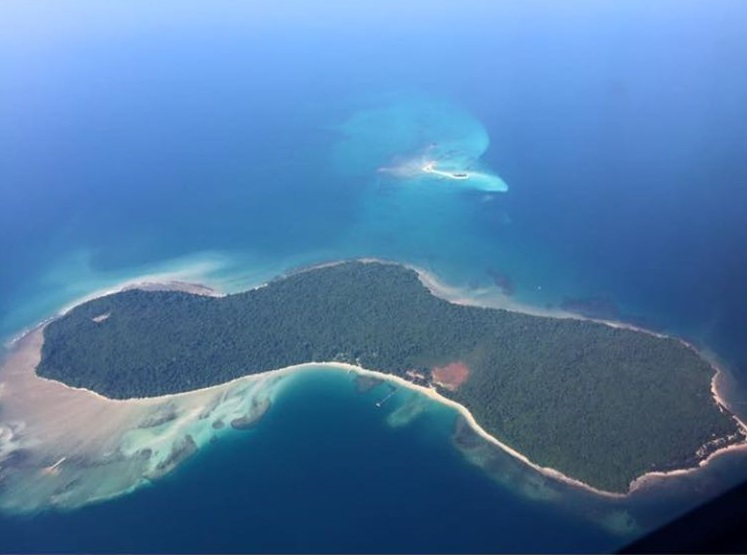 Pulau Tiga. - Photo credit Jamili Nais Facebook