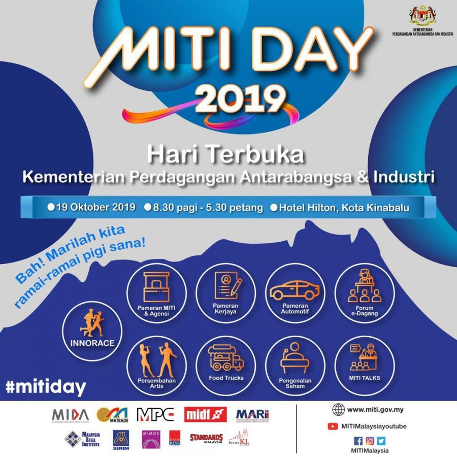 MITI Day In Sabah Expected To Attract Thousands Of Visitors