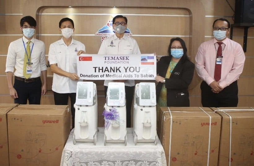 Temasek Foundation Gives More Medical Support | Borneo Today